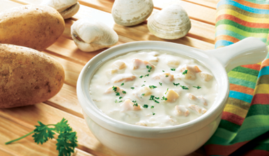 Clamdigger's Clam Chowder