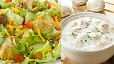 Soup & Dinner Salad Combo