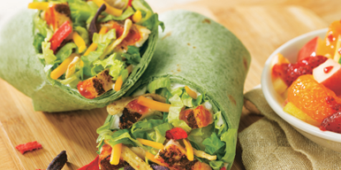 Whiskey River® BBQ Chicken Wrap